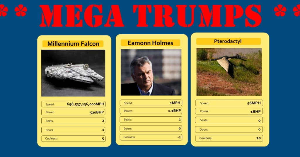 Mega Trumps The Daily Distress