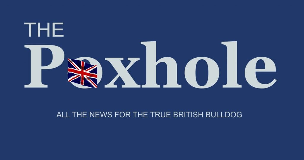 The Poxhole News Daily Distress UK Satire