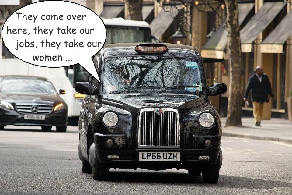 london cabbie the poxhole daily distress satire