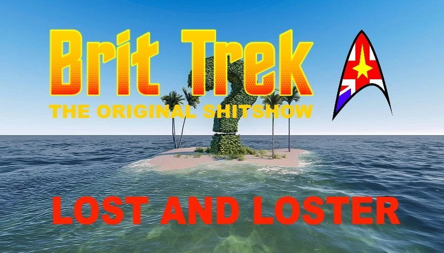 brit trek lost and loster daily distress satire star trek lost LOTR