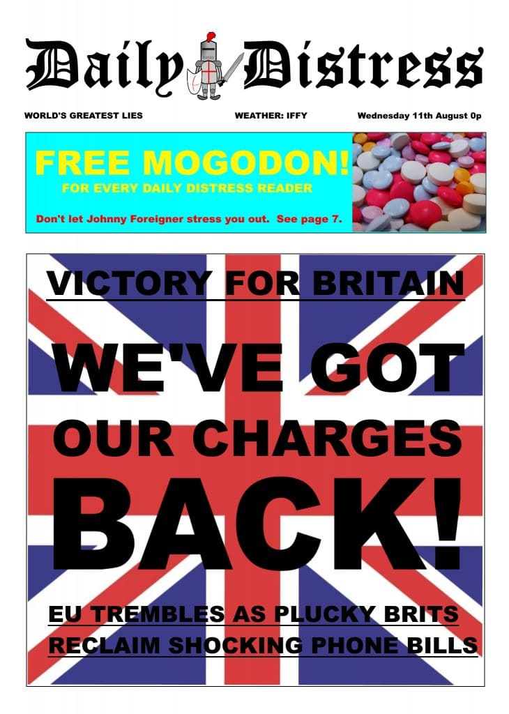 Daily Distress Covers - Victory for Britain