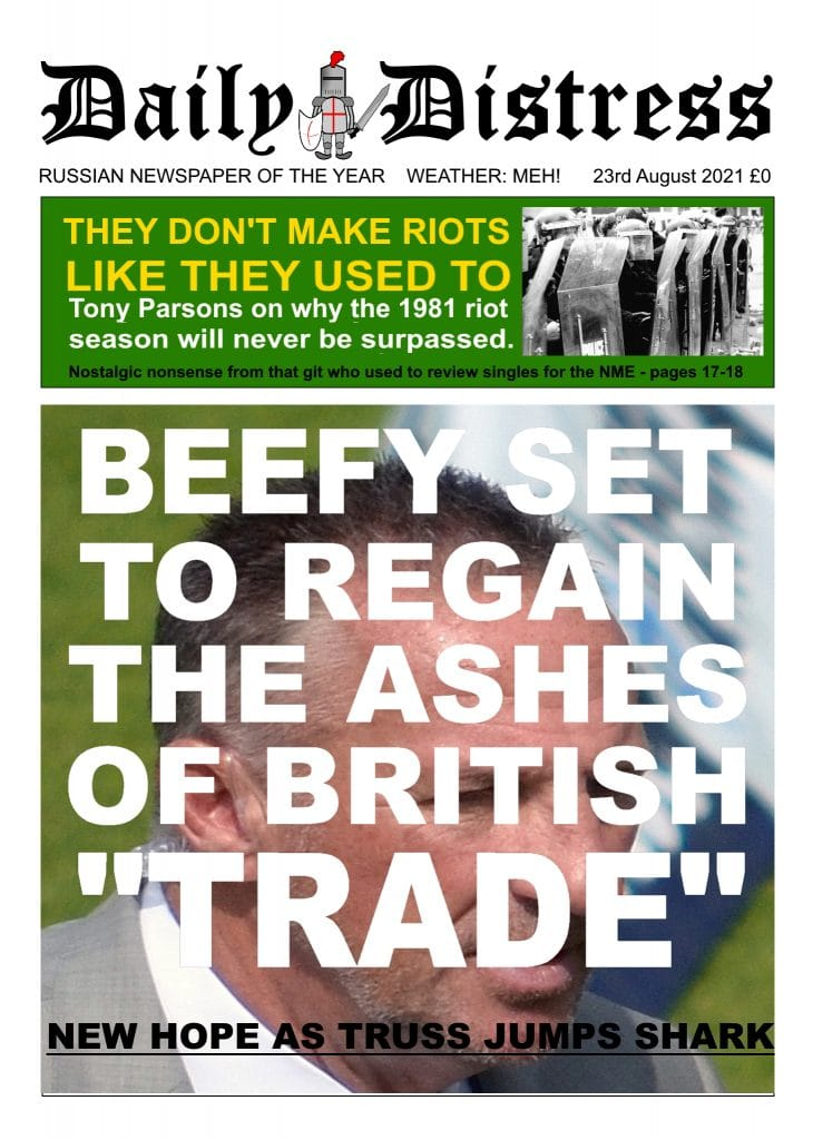 Daily Distress Covers - Botham Regains the Ashes