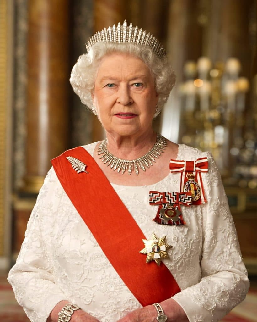 Her Majesty the Queen of England and it's dominions